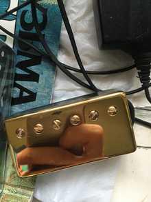 Seymour Duncan Jb model  Золотой глянцевый
