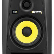 KRK RP5G3 Rokit  черный/желтый