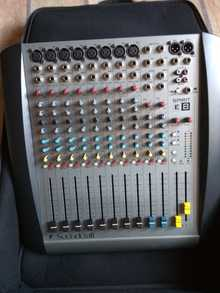 Микшерный пульт SoundCraft Spirit E-8