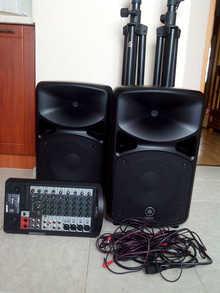 Yamaha Stagepas 600i (комплект - акустика, микшер, усилитель)