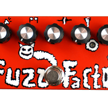zx37 Effects Fuzz Factory  Красный
