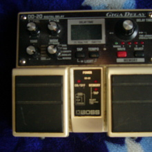 Boss giga delay dd-20