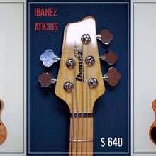 Продаю/меняю крутой бас Ibanez ATK 305 NT Indonesia 2007 год.