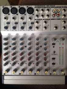 Behringer  EURORACK MX 802A  Металлик