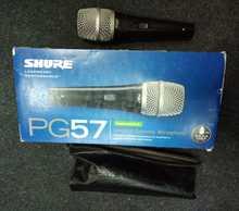 Shure PG57 2013 чёрный