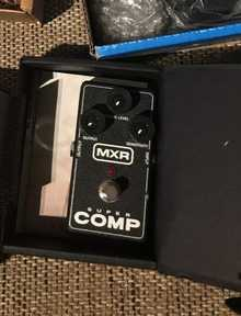 Jim Dunlop/MXR Super Comp
