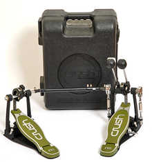Crush Drums Double Bass Drum Pedal  M4  2015 Black/Green