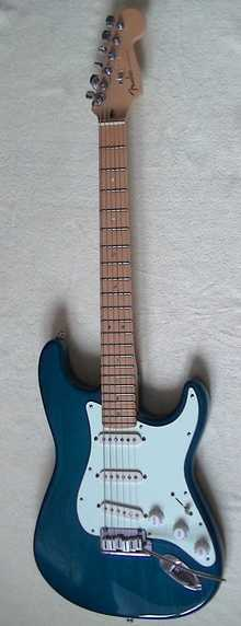 Fender Stratocaster (USA) Deluxe 1998 Teal Green