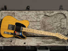 Fender Telecaster  American Elite Mn Butterscotch  Blonde