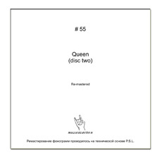 MusicalAction QUEEN (disc 2) Remastered Audio Media 2011