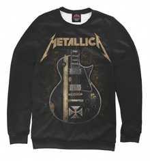Мужской свитшот Metallica от PRINT BAR