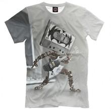 Мужская футболка Рок от PRINT BAR