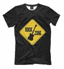 Мужская футболка Rock Zone от PRINT BAR