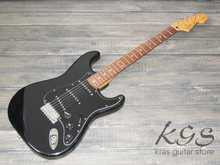 Squier Silver Series Stratocaster Black
