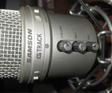 """Samson G-TRACK USB Студийный микрофон + """"паук"""""""