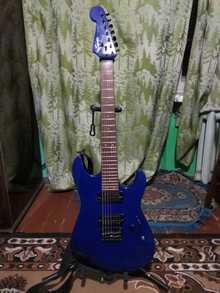 Squier Stagemaster HT7 2001 синий металлик