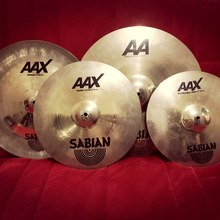 Sabian AAX  Brilliant Finish