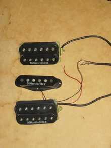 Продаю/Меняю сэт   гитарных звукоснимателей DiMarzio / IBZ USA