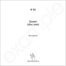 MusicalAction QUEEN (disc 1) Remastered Audio Media 2011