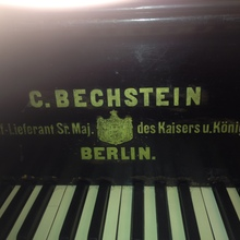 Bechstein Classic Черный Кабинетный 180 см  черный