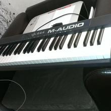 M-Audio Keystation 61 II  Черный/Пластик