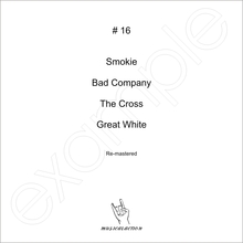 MusicalAction # 16 - Smokie, Bad Company, The Cross, Great White  Remastered Audio Media 2011
