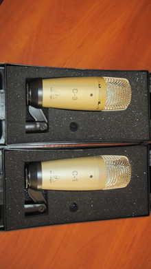 Behringer C-3 Studio Condenser Microphone 2016