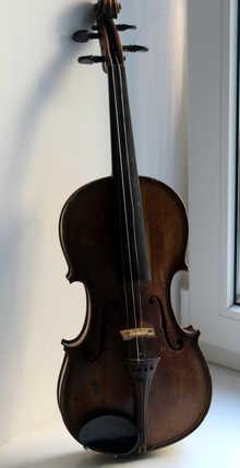 Giovan Paolo Maggini Brescia 16 скрипка 1906