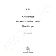 MusicalAction # 21 Chickenfoot, Michael Schenker Group, Alice Cooper Remastered Audio Media 2011
