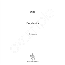 MusicalAction # 25  Eurythmics  Remastered Audio Media 2010