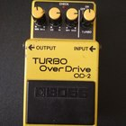 Boss (Roland) OD-2 Turbo Overdrive  1986 Желтый