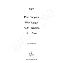 MusicalAction # 27  Paul Rodgers, Mick Jagger, Keith Richards, J. J. Cale  Audio Media 2011