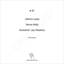 MusicalAction # 57  Johnny Laws, Vance Kelly, Screamin' Jay Hawkins  Audio Media 2018