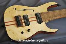Lobanov 8 string special Baritone 2012 Natural
