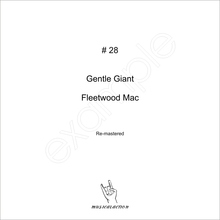 MusicalAction # 28  Gentle Giant, Fleetwood Mac  Audio Media 2011