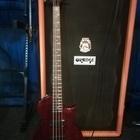 Бас-гитара ESP LTD EC-154DX  темная вишня