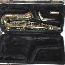 Цзияньская фабрика музыкальных инструментов альт-саксофон 2012 золотоой