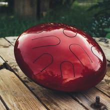 Ханг | Глюкофон | Hapi drum | Хэппи Драм | Хапи драм | Hang Nandpan | Инопланетная Мастерская Моника 2018 Касный с элементами голографической шлифовки
