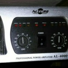 ALLEGRO Professional Power Amplifier AL-4000