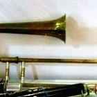 Сакбут (старинный тромбон)  2003 жёлтый цвет