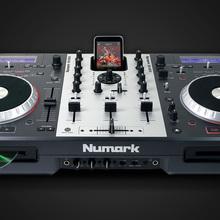 Numark CD mixdeck Двойной DJ  2016 серебристый
