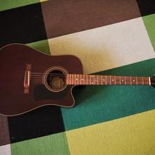 Электроакустическая гитара Washburn D10CEMTWR