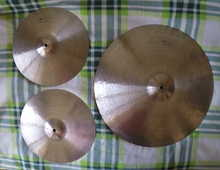 "Agean Special Jazz Ride 22"" + Special Jazz Hi-Hat 14"" 2018 traditional"