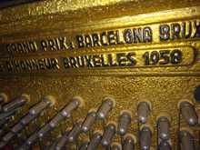 Petrof пианино 1958 коричневый