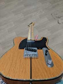 Sakura telecaster custom. Датчики Dragonfly. Электроника fender