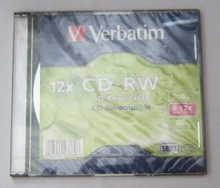 Verbatim CD-RW 12x 700 МБ  5 шт.