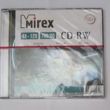 Mirex CD-RW 4-12x 700МБ  Синій 10шт.