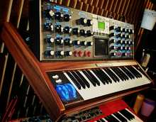 Moog Minimoog Voyager Electric Blue 2011