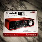 Focusrite scarlett  2I2 2019 RED/METALL