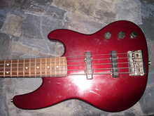Fender Jazz bass plus 5 1993 cherry